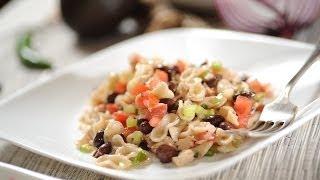 Pasta De Moños Con Atún - Recetas De Pasta - Como Cocinar - Pasta And Bean Salad