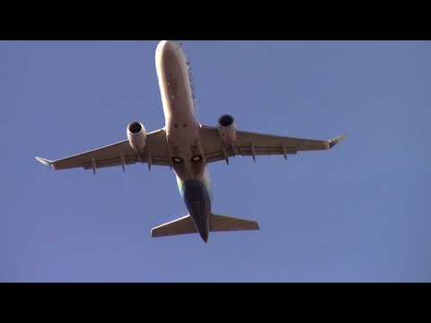 Dallas Love Field Crosswind Landing and Takeoffs Southwest, Virgin America, Alaska, Delta
