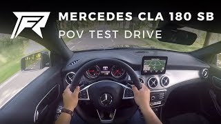 2017 Mercedes-Benz CLA 180 Shooting Brake - POV Test Drive (no talking, pure driving)