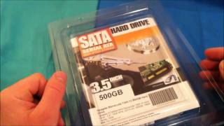 Seagate Barracusa 7200rpm 500gb hard drive install