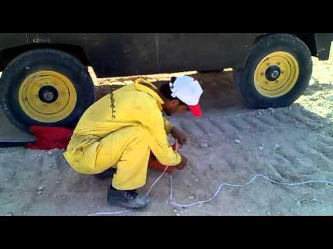 Balasting in OMAN  ( Gulf Mining Company ) Salahlah