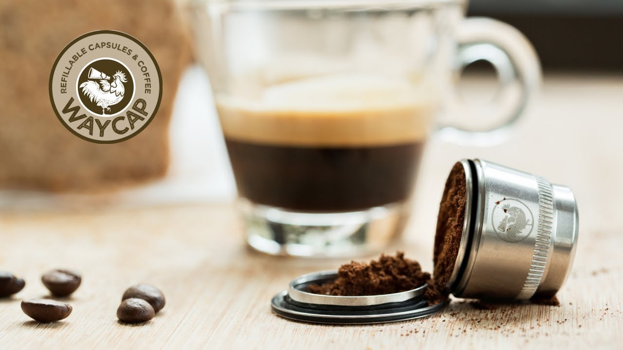 WayCap - Compatible & Refillable Coffee Capsules for Nespresso