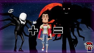 THE PLAYER & SLENDERMAN Fusion (Hello Neighbor)