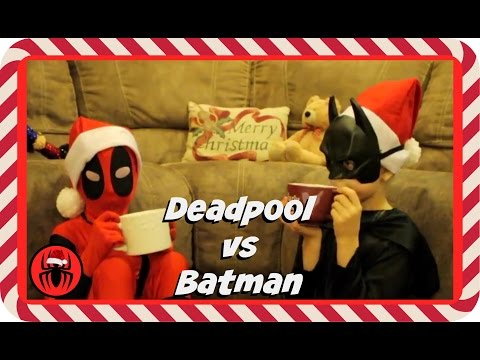 Kid Deadpool vs Batman in Real Life Christmas Special | New