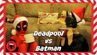 Kid Deadpool vs Batman in Real Life Christmas Special | New Little Superheroes | SuperHero Kids