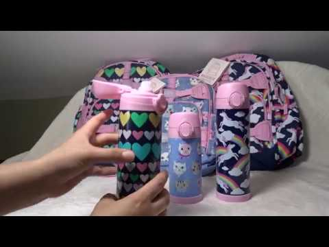 Pottery Barn Kids Backpacks Water Bottles And Pancil