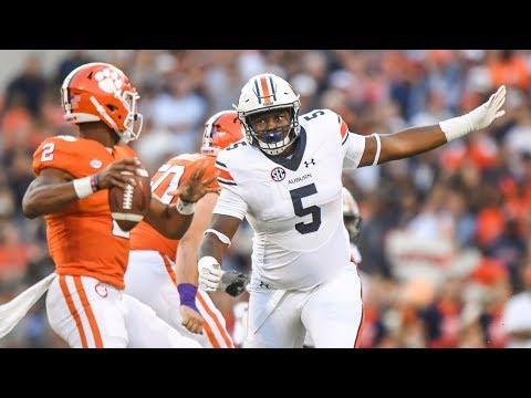 "Derrick Brown: Auburn Tiger - ""The Giant"" Highlights [HD]"