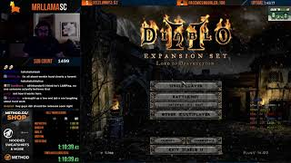 [Part 1] Diablo 2 - HELL TWINKED BARBARIAN SPEEDRUN