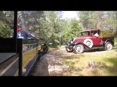 A Ride on the Michigan AuSable Valley Railroad