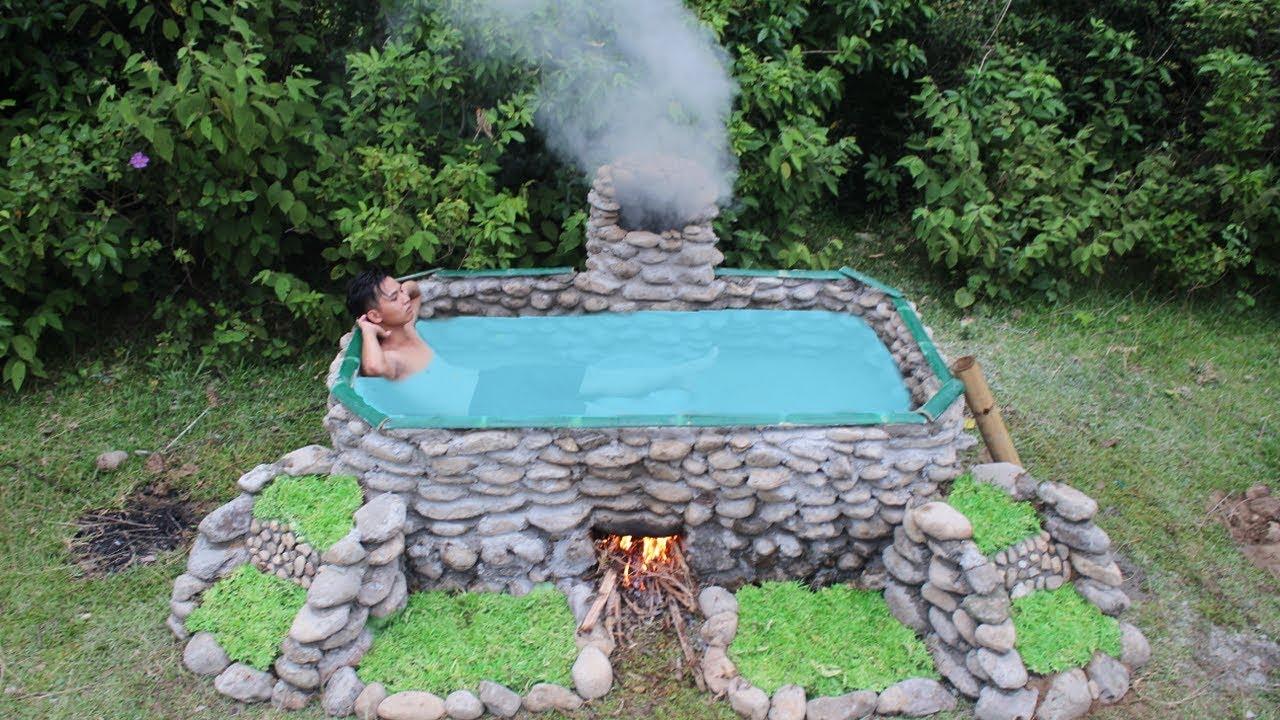 Build Heated Swimming Pool Youtube