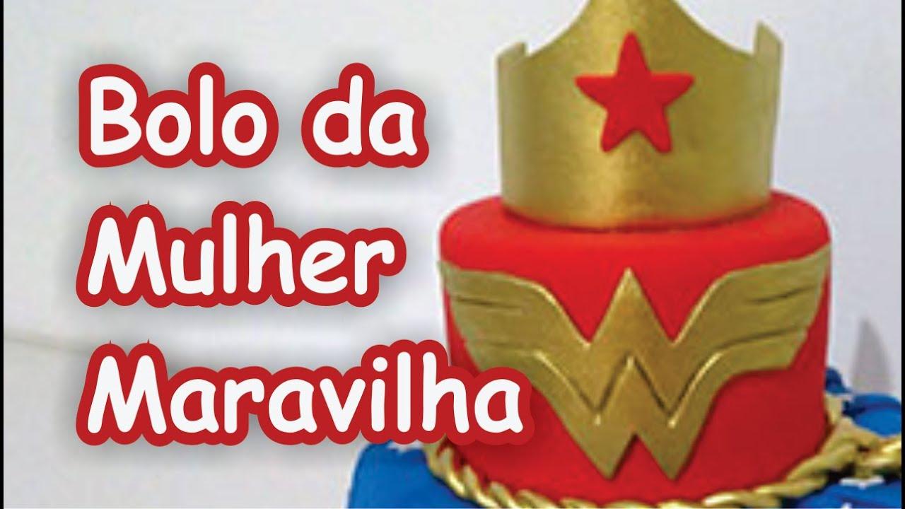 Super Bolo Mulher Maravilha vestido - YouTube UQ24