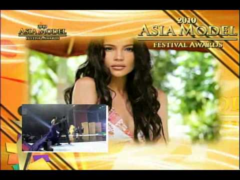 "2010 Asia Model Awards ""Philippines Model Star Award"" Victor Aliwalas, Rhian"