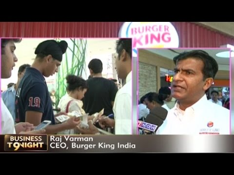 Burger King Comes To India - CEO Raj Varman Talks About Their India Strategy