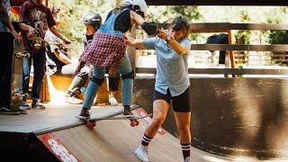 [SKATE] Element YMCA Skate Camp Girls Week 2016