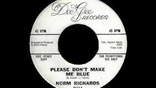 Norm Richards - PLEASE DON