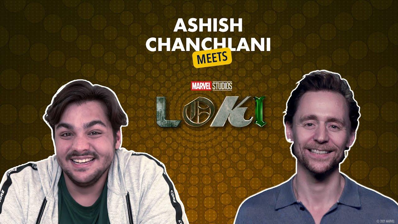 Ashish Chanchlani Meets Loki | Tom Hiddleston