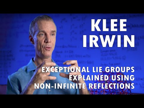 Exceptional Lie Groups Explained Using Non-Infinite Reflections by Klee Irwin