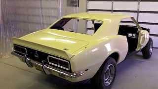 68 Camaro SSRS 396 Restoration Part 41