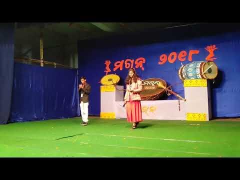 Sambalpuri Anchoring Belpahar Utsav Machan
