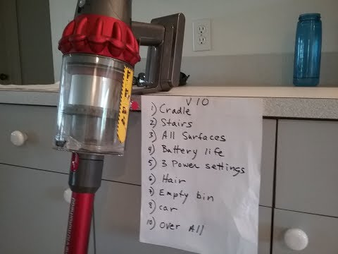 Dyson V10 vs V8 pros and cons Part 3 UPDATE