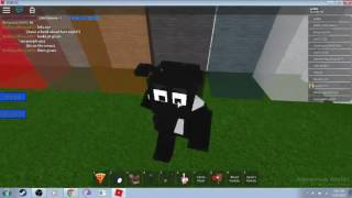 Just for FUN!! -ROBLOX- Animatronic world-How to make Boris from bendy and the ink machine-