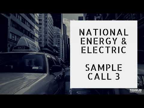 National G & E- Sample Call 3