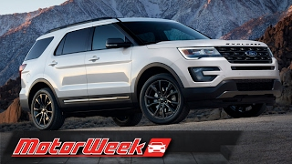 Road Test: 2017 Ford Explorer - Less Exploring, More Conquering