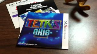 [Unboxing #25] Tetris: Axis (Nintendo 3DS)