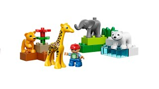 Lego Duplo Baby Zoo 4962 Building