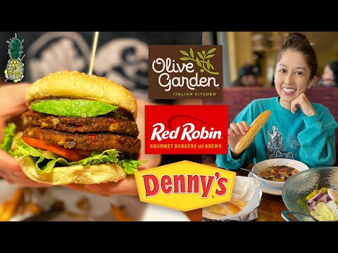 We Tried Eating Vegan at Popular Restaurant Chains