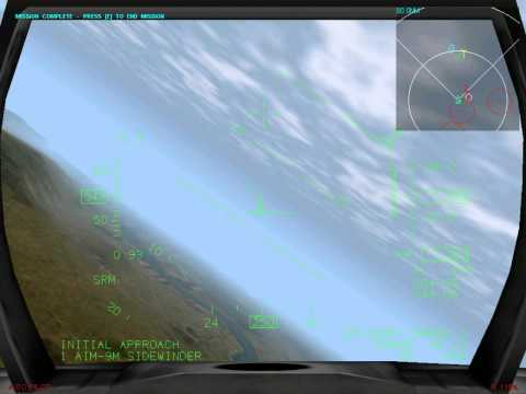 F-16 Multirole Fighter - Campaign 1 - Mission 1 - Lights Out |