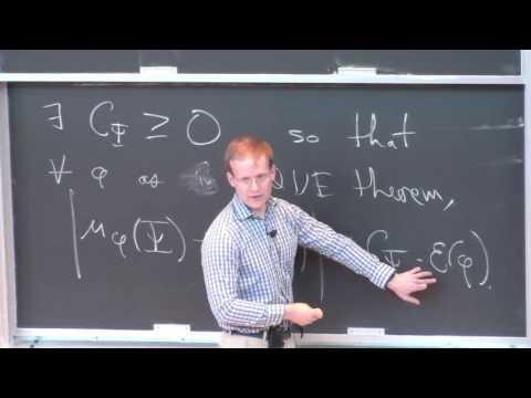 3. Subconvex equidistribution of cusp forms - Paul Nelson (ETH Zürich) [2017]