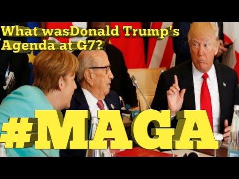 Donald Trump dominated THE G7 meeting why because that's his job to make America great again. #MAGA
