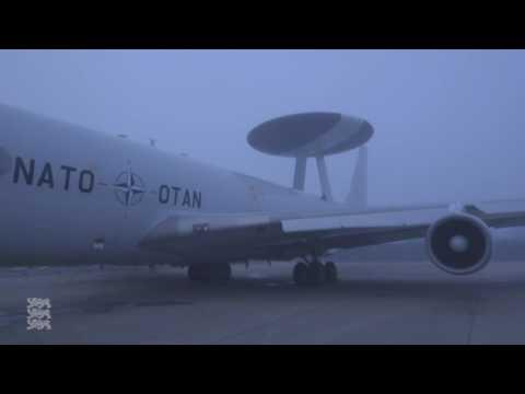 Liitlaste AWACS lennuk külastas Ämari lennubaasi