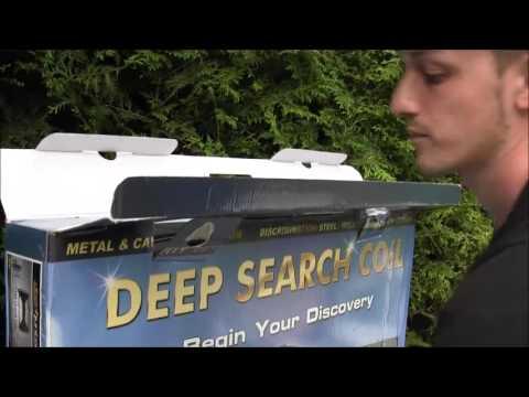 Makro Deephunter Produktvideo Deutsch Bodenscanner Metalldetektor Golddetektor Sondeln Schatzsuche