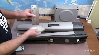 Приводы для распашных ворот NICE TO4016PKIT и TO5016PKIT обзор комплектов.