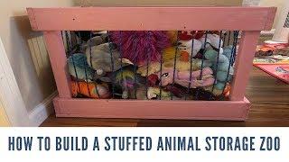 How to Build Stuffed Animal Storage Zoo