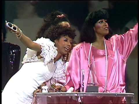 The Pointer Sisters Win Black Video Group Award-AMA 1985