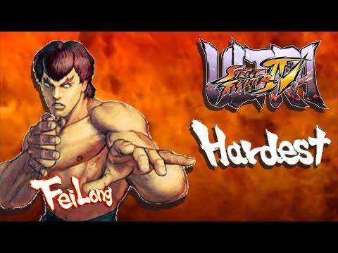 Ultra Street Fighter IV - Fei Long Arcade Mode (HARDEST)