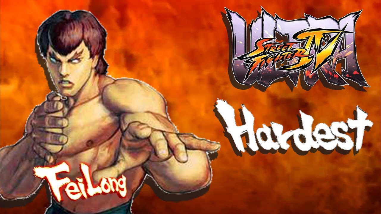Ultra Street Fighter IV - Fei Long Arcade Mode (HARDEST)