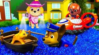 Видео для детей. Щенячий патруль. Игры в игрушки из мультфильмов. Куклы Лол потеряли котенка