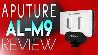 Aputure Amaran AL-M9 LED Light Review