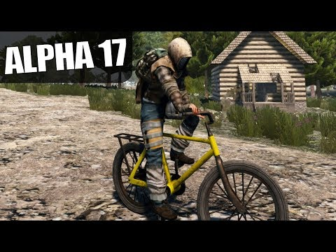 ALPHA 17 | THE BICYCLE IS AWESOME! | 7 Days To Die Alpha 17 Gameplay | S17E14