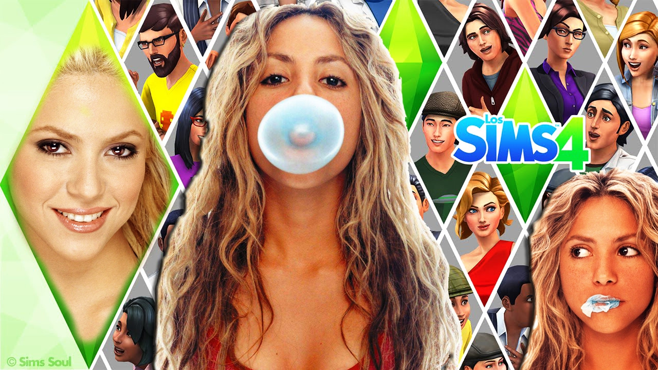 the sims 4 shakira - shakira isabel mebarak ripoll ! - youtube