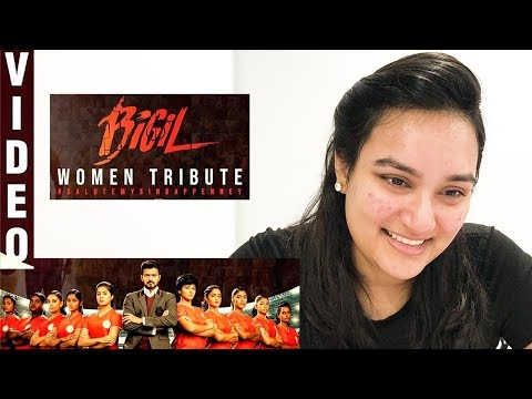 Singappenney Video REACTION | Thalapathy Vijay | Bigil | Nayanthara | A.R Rahman!
