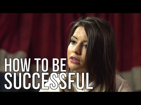 HOW TO MAKE IT AS AN ACTOR IN HOLLYWOOD | Masiela Lusha On Success | London