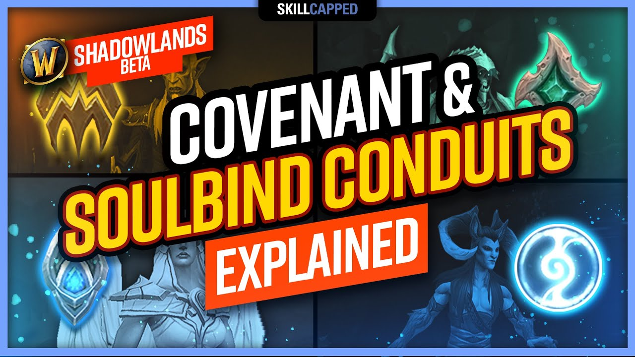 Covenant & Soulbind Conduits EXPLAINED | WoW Shadowlands Beta