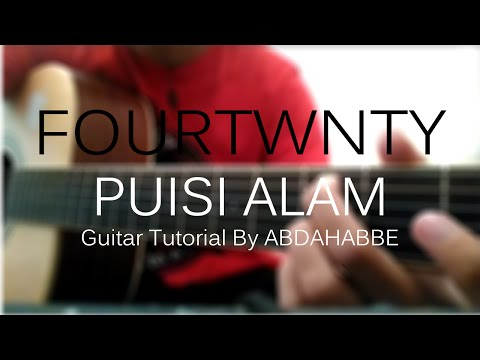 FOURTWNTY - Puisi Alam [Guitar Tutorial by Abe] #MusisiAmatir