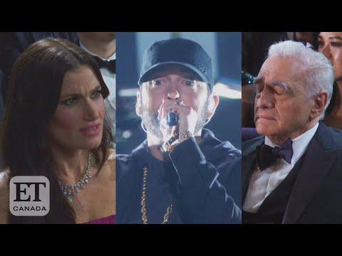 Reaction To Eminem's Surprise Oscar Performance