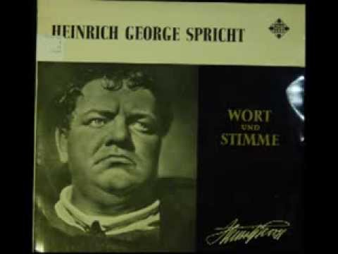 Heinrich George spricht: Es lebe die Freiheit  Götzens Tod aus